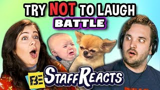 Try To Watch This Without Laughing or Grinning Battle #5 (ft. FBE Staff)