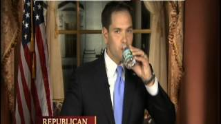 Marco Rubio Dry Mouth