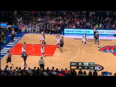 Andray Blatche's Big Game vs Knicks | 19pts 12rebs