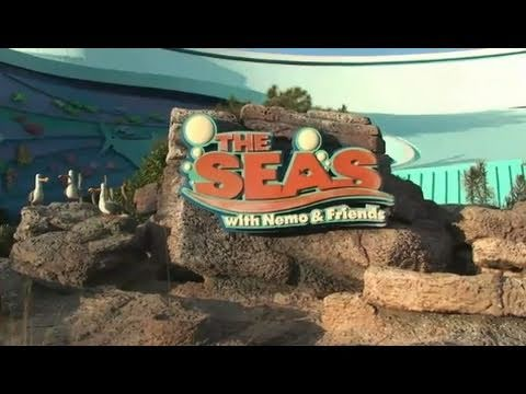 The Seas with Nemo and Friends ride-through at Epcot in Walt Disney World