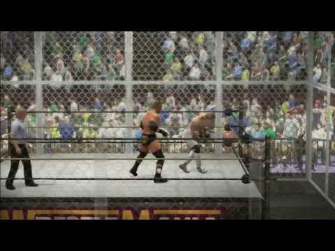 WWE 2K14: SHAWN MICHAELS VS TRIPLE H - HELL IN A CELL