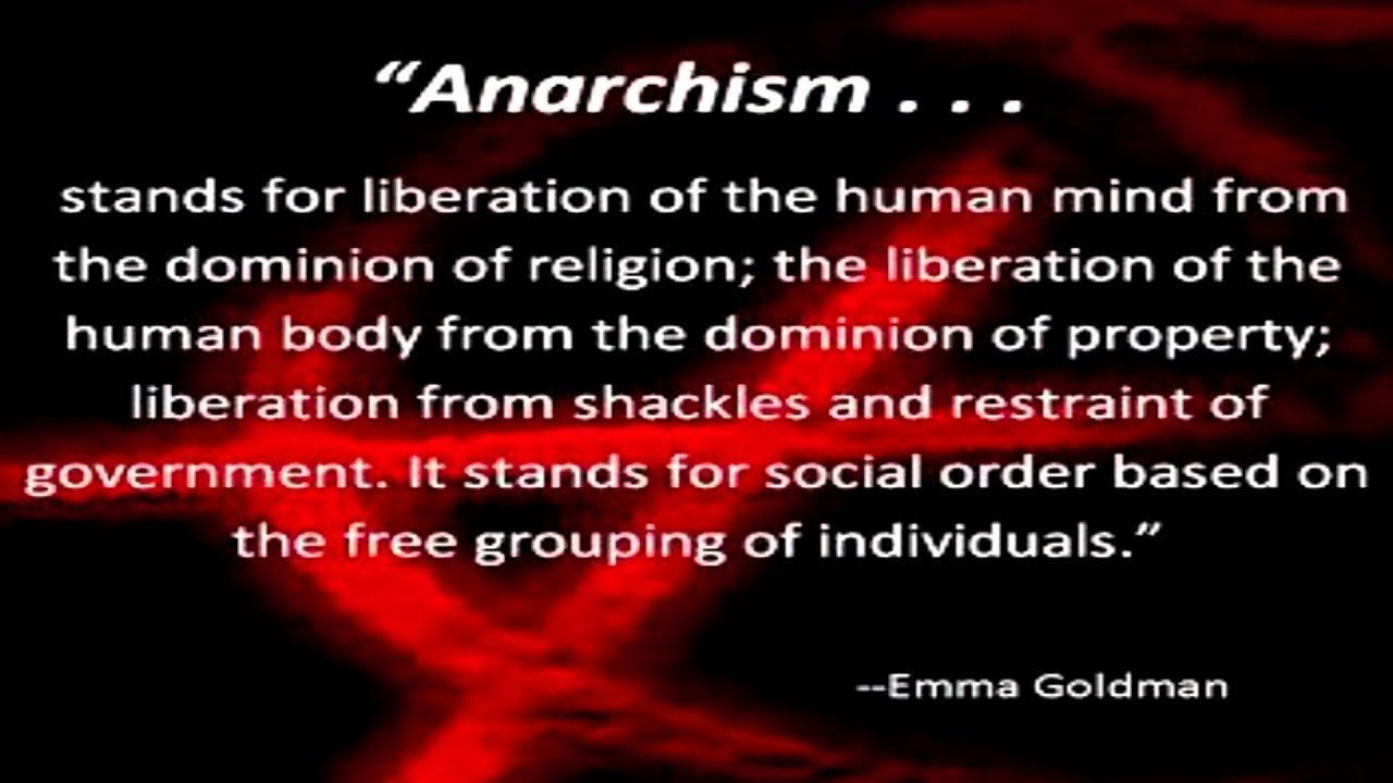 emma goldman and anarchy Learn about the life and times of anarchist emma goldman.