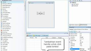 Tutorial Visual Basic 2008: Membuat Program Aplikasi