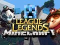 LEAGUE OF LEGENDS MOD! - Minecraft Mod Spotlight