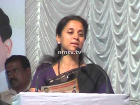 MP Supriya Sule woos Mathadis to vote for Sanjeev Naik at Koparkhairne