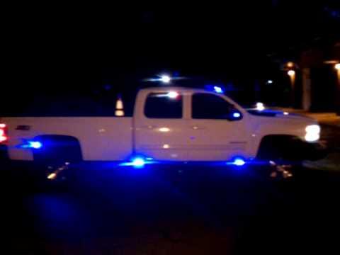 Unit 1 Lighting Emergency Demo Vehicle Silverado 3500hd