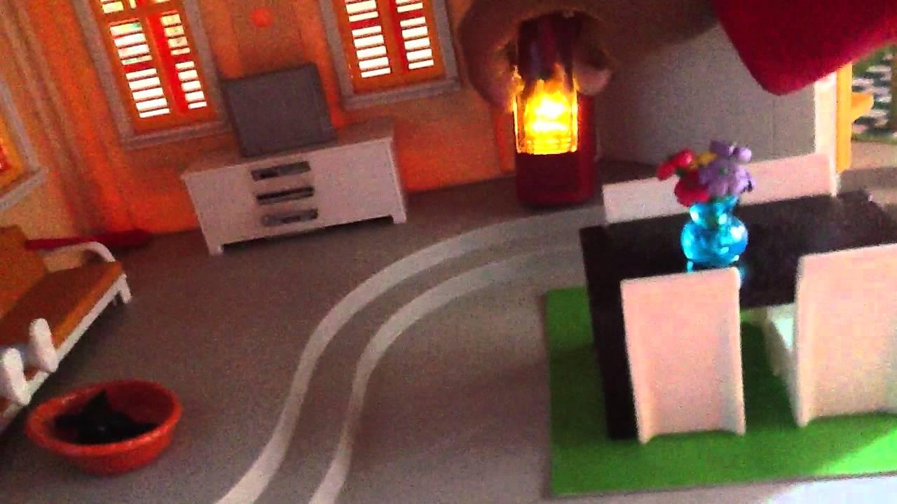 la maison de la famille playmobil