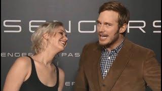 Jennifer Lawrence Pranks Chris Pratt | Passengers Co-Star