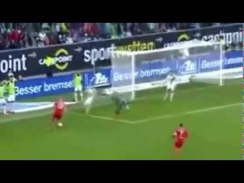 Wolfsburg vs Bayern Munich 1 6   All goals & Highlights 8 03 2014