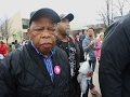 Congressman Lewis: Womens Marches Gratifying