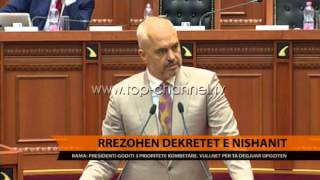 Rama Drejtsia, ndarja e re dhe policia, prioritete kombtare  Top Channel Albania  News  L