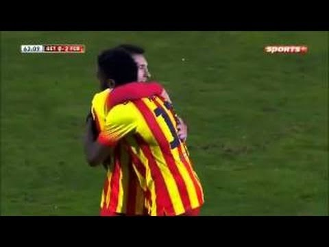Getafe vs Barcelona 0-2 | All Goals & Highlights | Copa Del Rey | 16/01/14