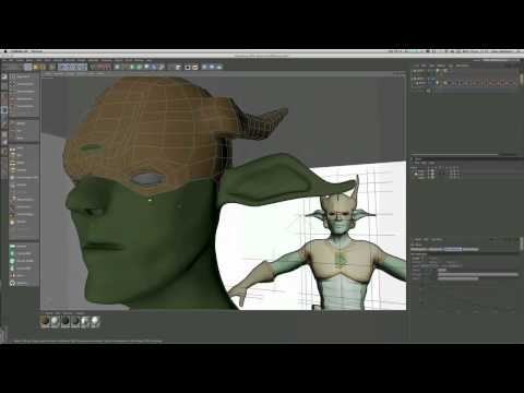 Model a heroic character in Cinema 4D (Part 5)