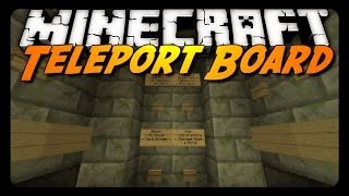 Minecraft: Teleport Board, Live Streams & Mod Packs (Peaceful Map Update)