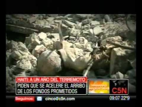 C5N - HAITI, A UN AÑO DE LA TRAGEDIA