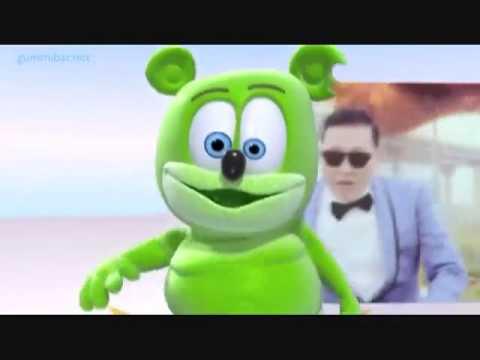 Nhạc cực vui nhộn cho bé   Gangnam Style Gummy Bear   YouTube