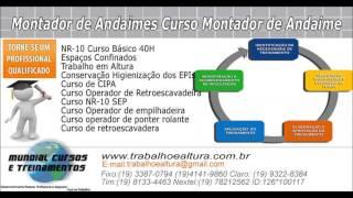 Cursos e Treinamentos para Montadores de Andaimes   - youtube