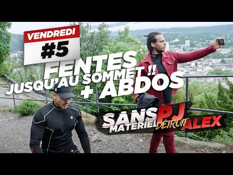 PJ COACH ALEX EN LIVE: DÉFI 1H DE FENTES + ABDOS 🔥