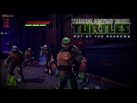 Teenage Mutant Ninja Turtles - Out of the Shadows - Gameplay HD