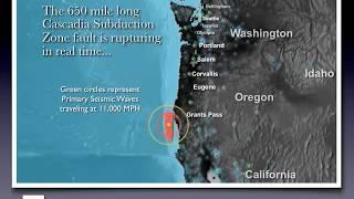 James Roddey - Cascadia Earthquake Animation