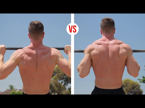 Pull-Ups OR Chin-Ups? (CHOOSE WISELY)