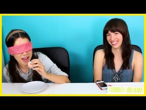 Blindfolded Macaron Challenge with Meghan!