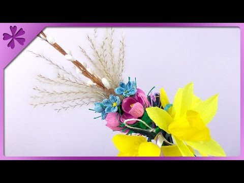 DIY Palma wielkanocna / Easter palm, Easter decoration (+ENG Annotations) - Na szybko #69