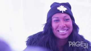 Melanie Fiona Covers Chris Brown's Fine China