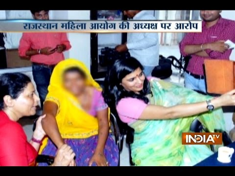 State Commission for Women member Somya Gurjar takes selfie with an alleged