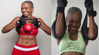Meet the 80-year-old bodybuilding grandmother who bench presses 150lbs and runs 80 miles a week