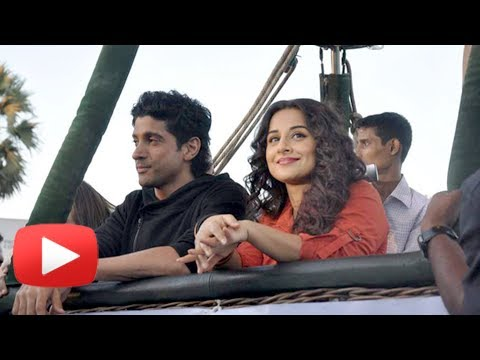 Vidya Balan and Farhan Akhtar's Hot Air Balloon Date - Shaadi Ke Side Effects