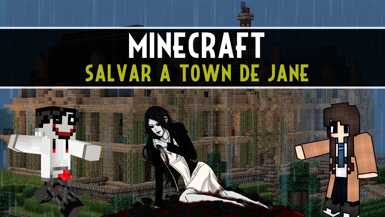 Jane the killer in minecraft