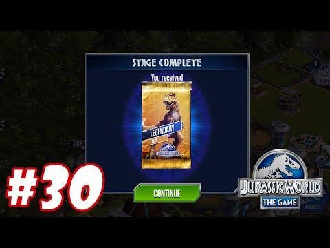 Hướng dẫn lấy gói Legendary : Trò chơi nuôi khủng long đánh nhau - Jurassic World The Game #30