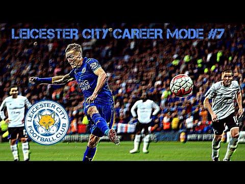 VARDY ON FIRE!! Fifa 18 Leicester City Career Mode #7