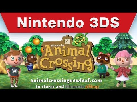 Nintendo 3DS - Animal Crossing: New Leaf Tourism Trailer