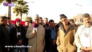 بالفيديو..سائقو سيارات الأجرة بوجدة يحتجون على إغلاق الحدود ببني درار |