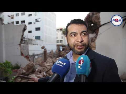انهيار منزل بحي حسان بالرباط