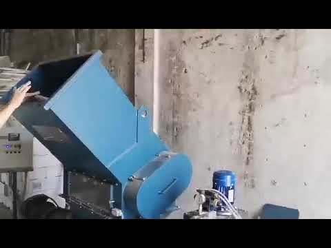 Ecopolymer Screw compactor KDM-360 for EPS/airpop waste in Estonia