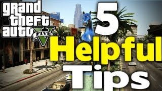 GTA 5 5 HELPFUL THINGS TO KNOW (25% Discount, More Money