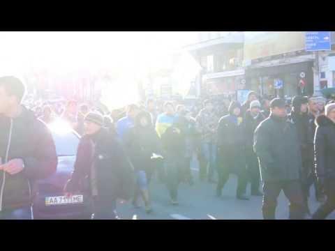 PRO-EU PROTESTS IN KIEV UKRAINE, EVERY DAY OCCUPY STREETS 14.12.2013 KIEV UKRAINE REVOLUTION