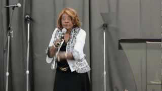 Bishop Ernestine Reems At World Harvest Ministries