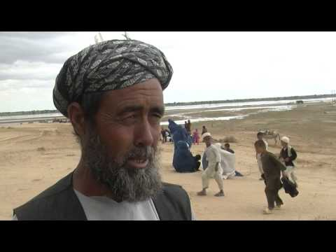 Victims of flooding in Jawzjan, Afghanistan