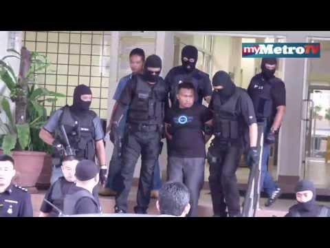 Suspek tembak pegawai AmBank direman