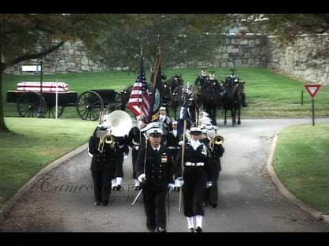 Arlington National Cemetery Military Funeral Video - William R. Mitchell, LCDR, US Navy