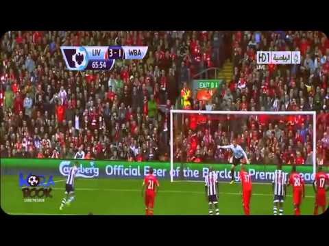 Liverpool vs West Bromwich 4 1 Luis Suarez Superb Hattrick! Goals Highlights    EPL 26 10 2013