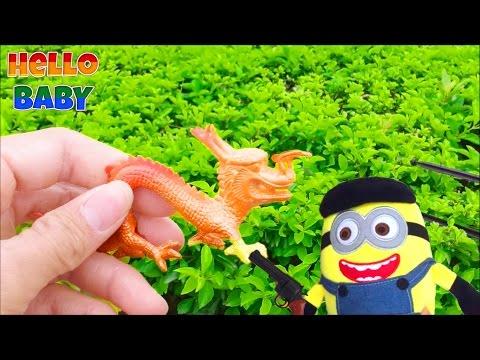 Săn thú đồ chơi với Minion_Chơi Đồ Chơi Với Minion(Tap19) Hello BABY !!!