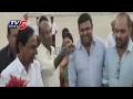 CM KCR Receives Grand Welcome at Renigunta Airport..