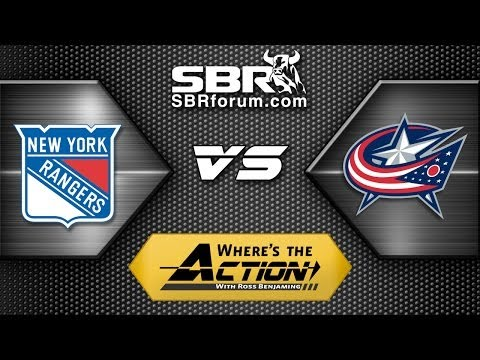 NHL Picks: New York Rangers vs. Columbus Blue Jackets