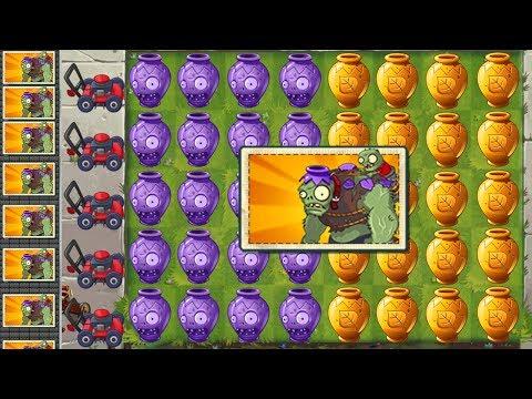 Plants vs Zombies 2 Team Plants Power-Up: VASEBREAKER ENDLESS LEVEL 31-35
