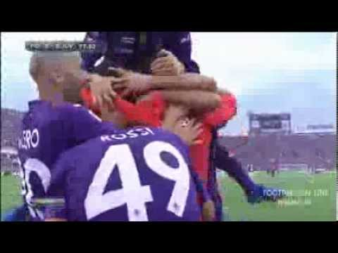 fiorentina - juventus 4-2 sintesi HQ 20-10-2013 Highlights Sky Sport 24 Video obiettivi